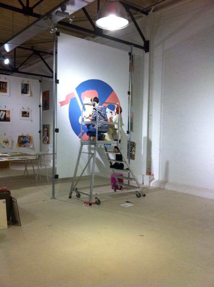 Doeke and La Nonette's Mural for  Loods 5 Kunst.