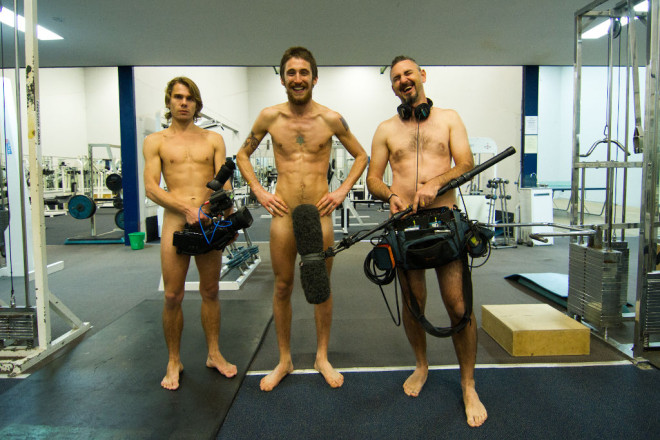 Ryder and crew strip down for tonights premier.
