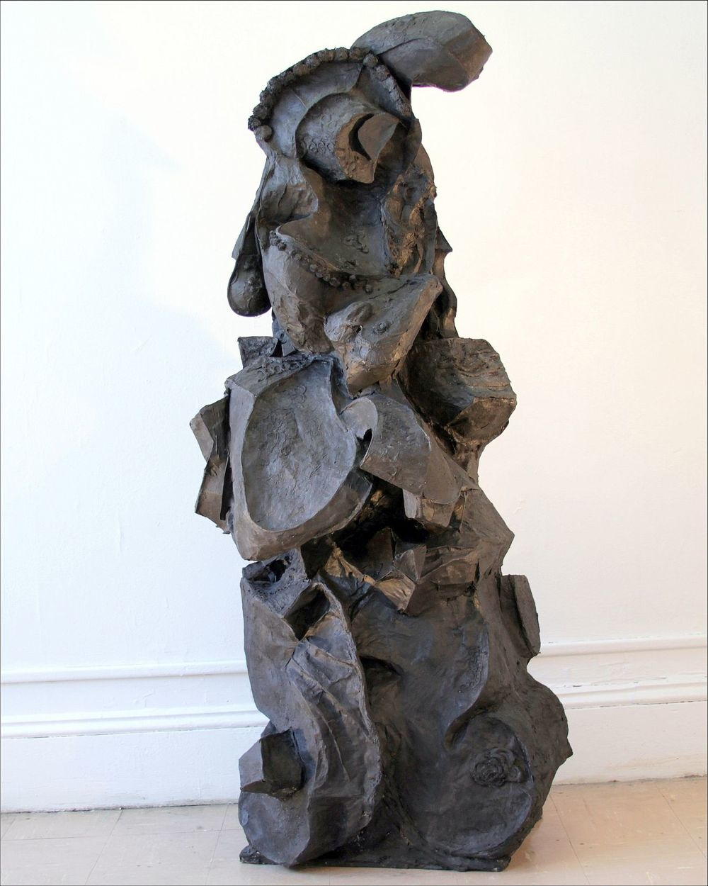 Bernice Sokol   Kramer    Lady in the Dark    paper mache, acrylic, mixed media on wood base    $6,000