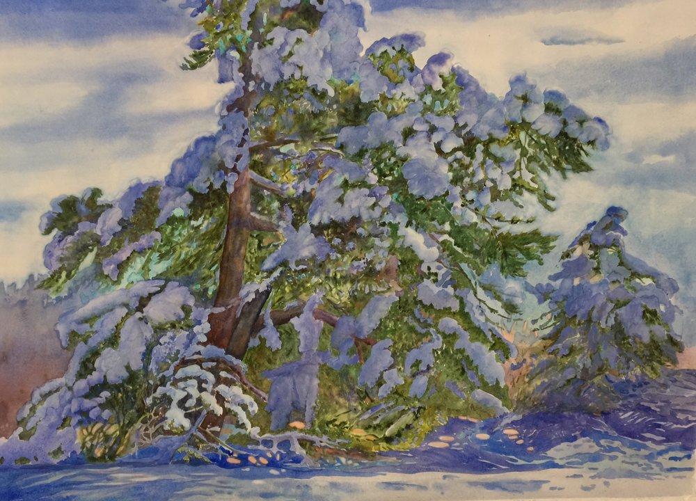 Evelyn Dunphy Title: Spirit of Winter Size: 34 x 44 Price: $3500
