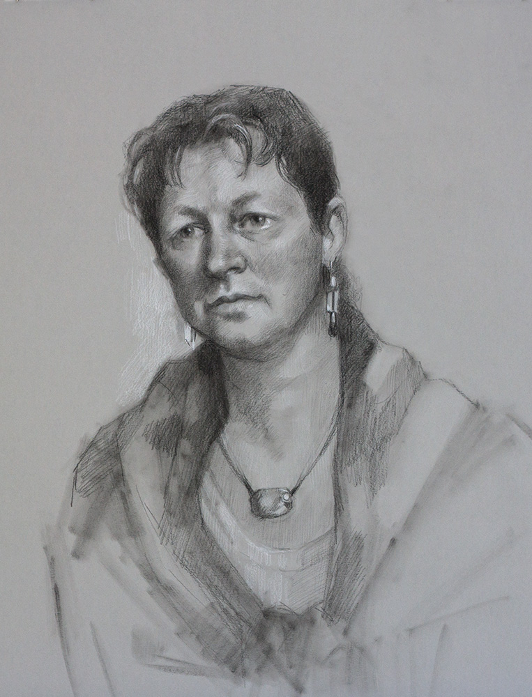 Margie Milne Title: Christel Size: 19 x 15 Price: $500
