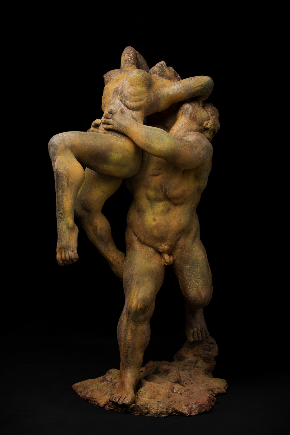 Glenn Marlowe Title: The Lovers Size: 20 x 12 x 8 Price: $5000