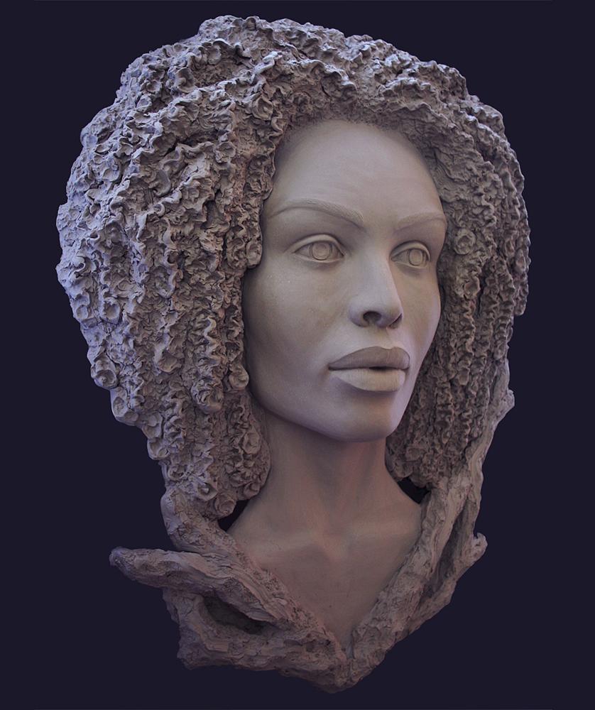 Denisa Prochazka Title: Gabriela's Roots Size: 35 x 30 x 7 Price: $2000