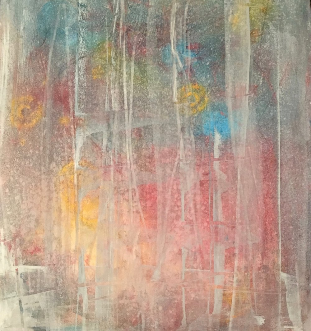Leonie Newman Title: spring coming 1 Size: 14 x 11 Price: $600