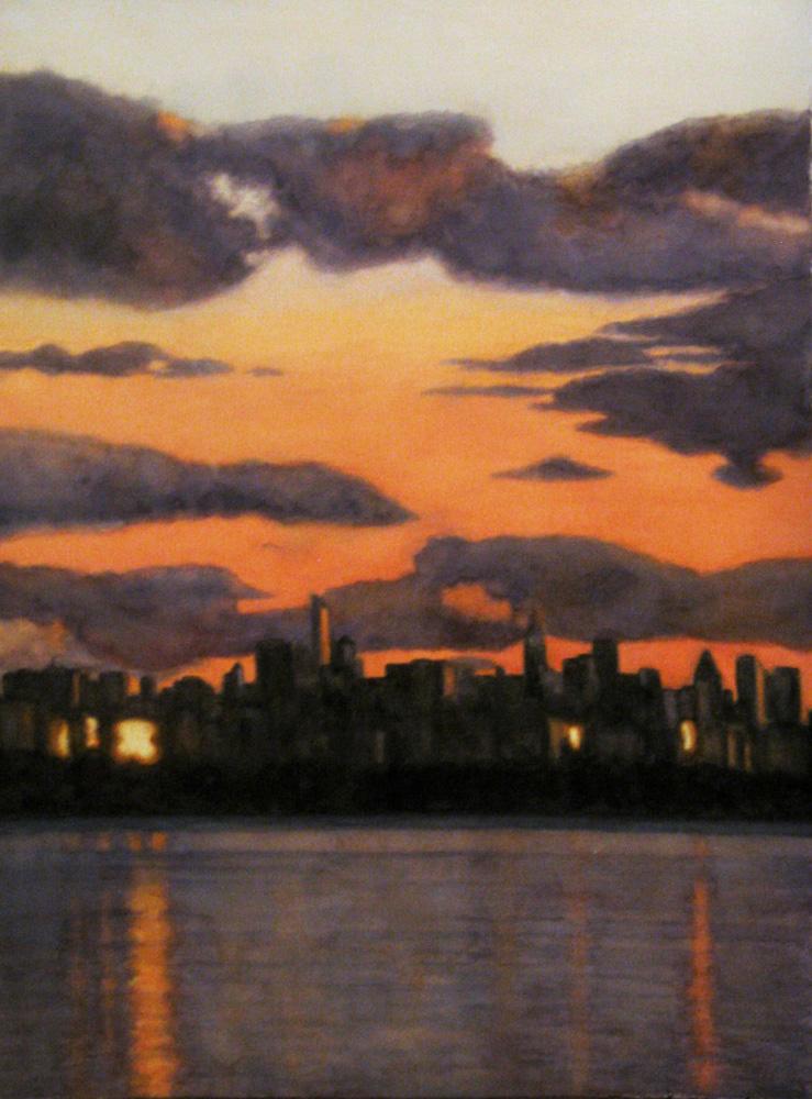 Helen Stutz Title: Heading Home Size: 35 x 27 framed (30 x 22 unframed) Price: $1600