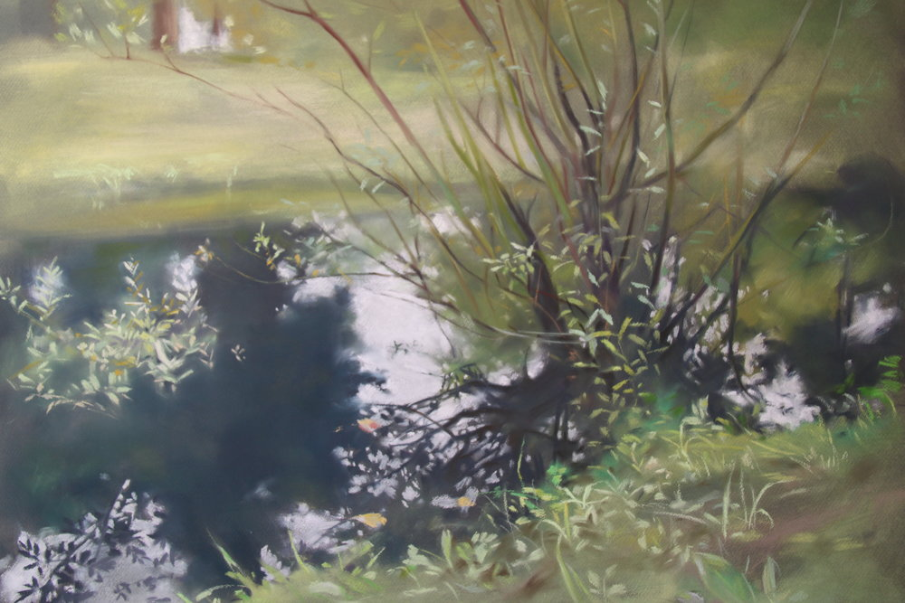 Hsiu-Min Hung Title: green symphony Size: 97cm x 107cm Price: $9000