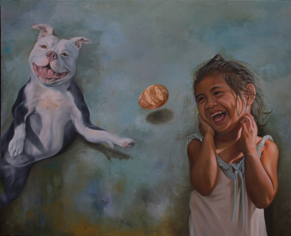Angelo Maristela Title: Simple Joy Size: 36 x 48 x 2 Price: $4000