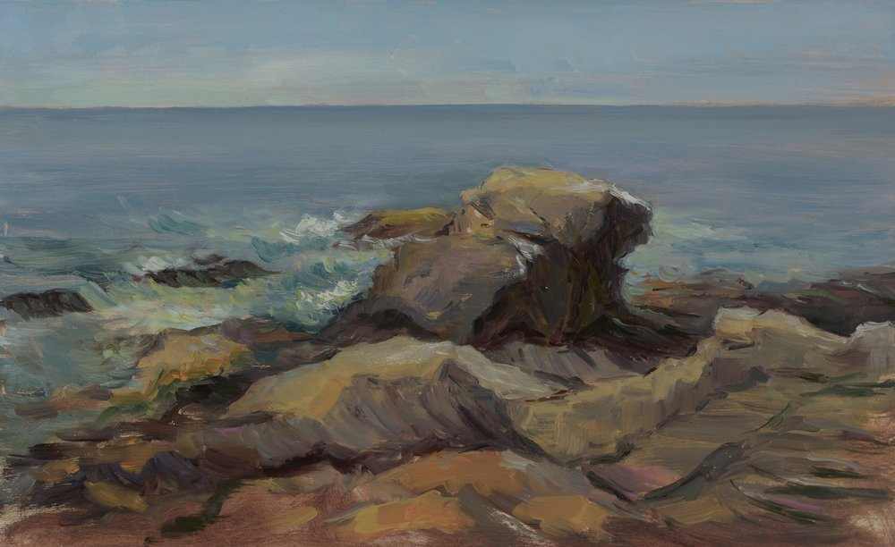 Marsha Massih Title: Pemaquid Point, Maine Size: 12 x 18 Price: $700