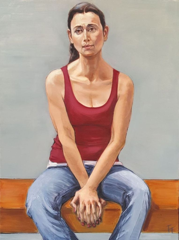 Tatyana Teichberg Title: Maria Size: 40 x 30 Price: $2000