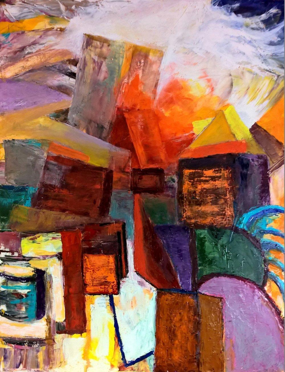 Nicolas Bouteneff Title: Beyond Size: 30 x 22 Price: $8000