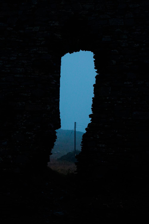 Old Slain's Castle Ruin, Scotland.