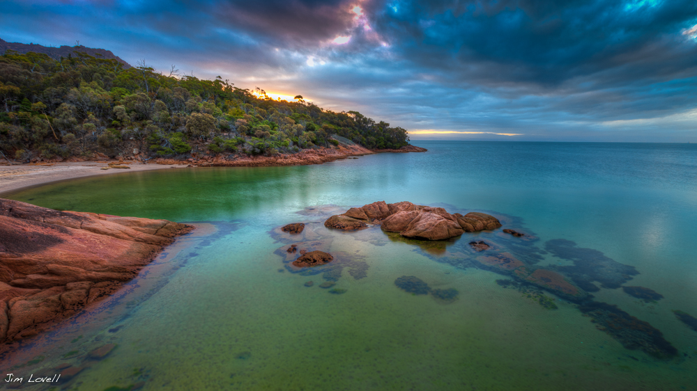 Freycinet Sunset, Freycinet National Park, Tasmania