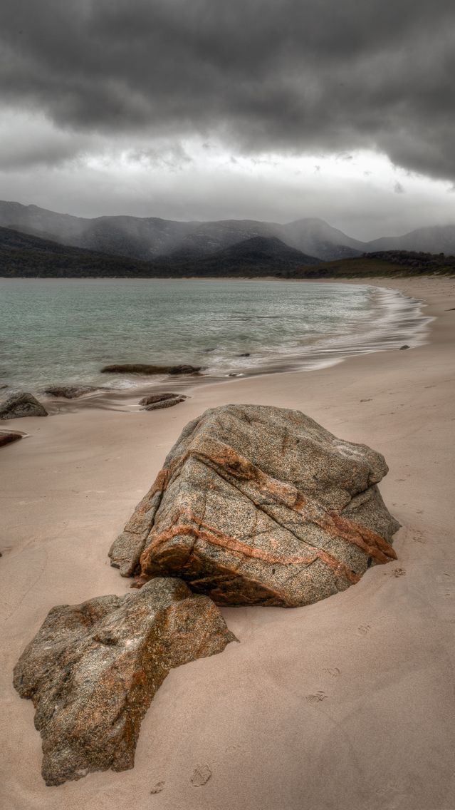 Rain Approaching, Wineglass Bay