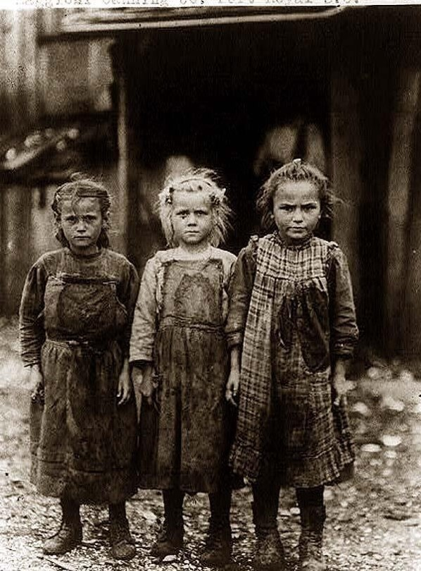Child labourers in the 1800s