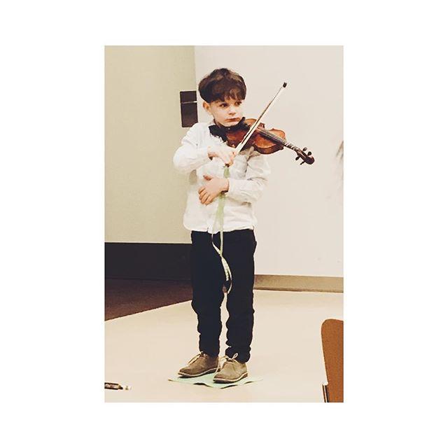 The B playing the V - #violin