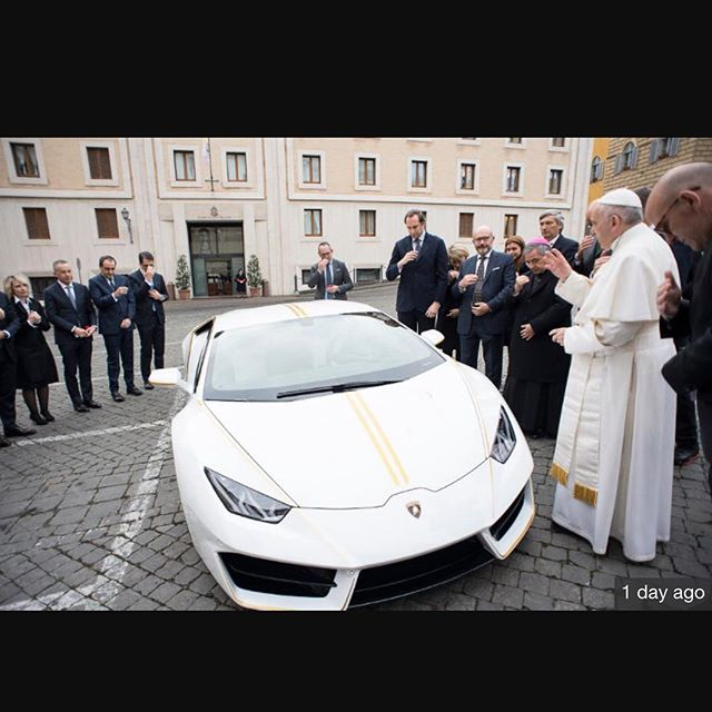 Pope Lambo the first.