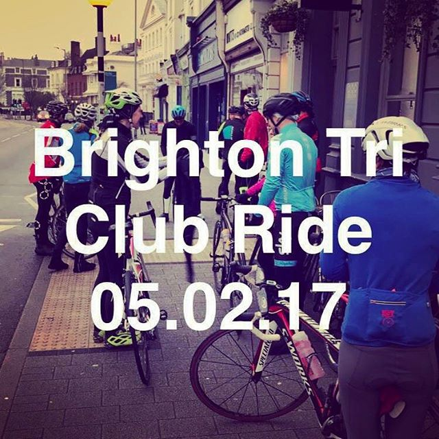 Sunday Funday! 🚴🏻🚴🏻‍♀️💨 #clubride #cycling #brightontriclub #wintertraining #chaingang