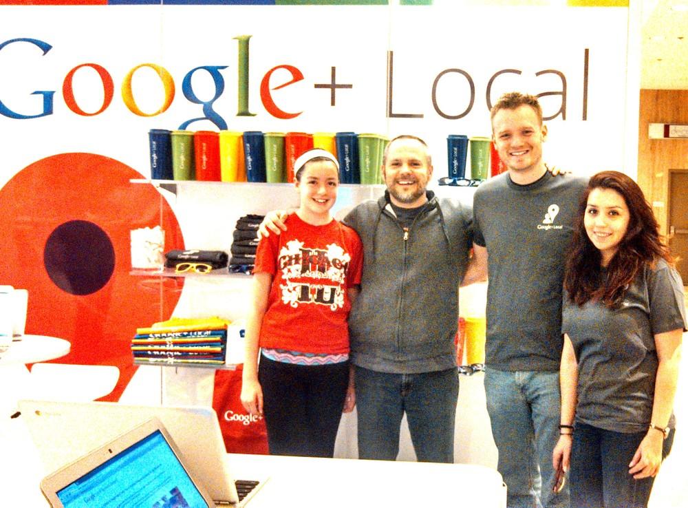 Google+Places - Chicago - Google Places Push
