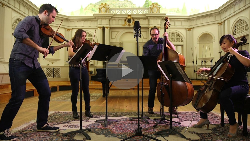 ROSIN Classical Quartet promotional video, www.rosin.band