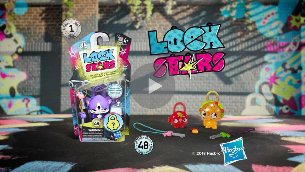 LOCK STARS  - Television Commercial (Hasbro). Directed by Andrew Mudge