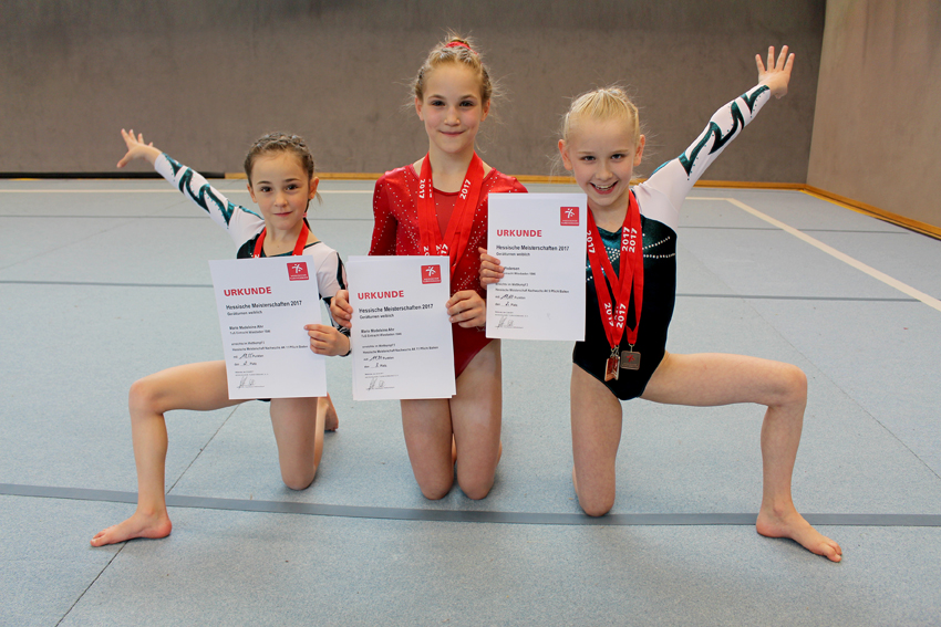 links nach rechts: Marla Leugner-Vilela, Marie Madeleine Ahr, Alva Pedersen