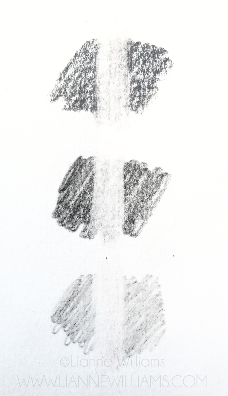 erasing graphite