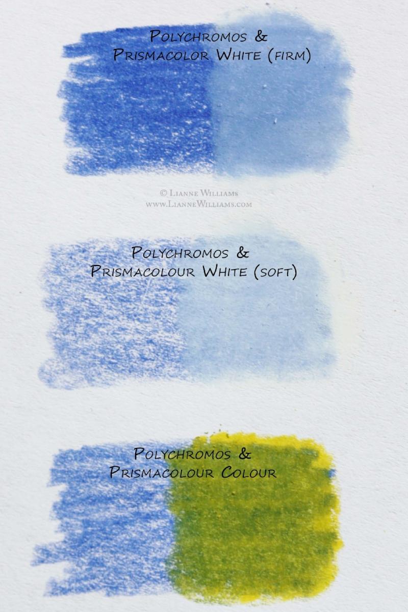 Mixing Prismacolor Premiere Colour Pencils with Faber-Castell Polychromos Colour Pencils