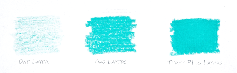 Colour Pencil Technique Layering