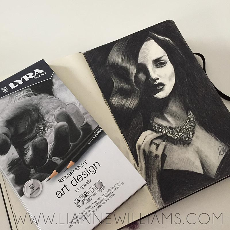 Lyra Rembrandt Graphite Pencils