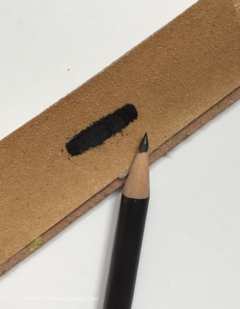 Sharpening a pencil with sandpaper