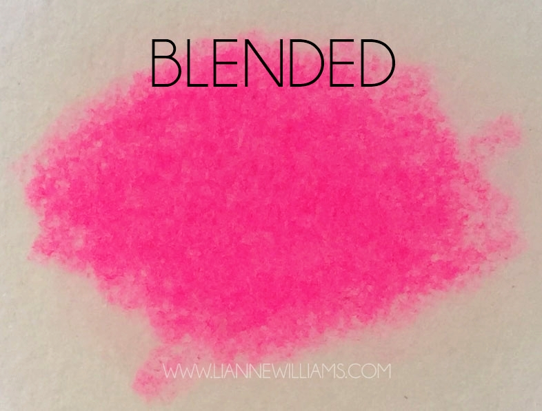 why you blend colour pencil blended