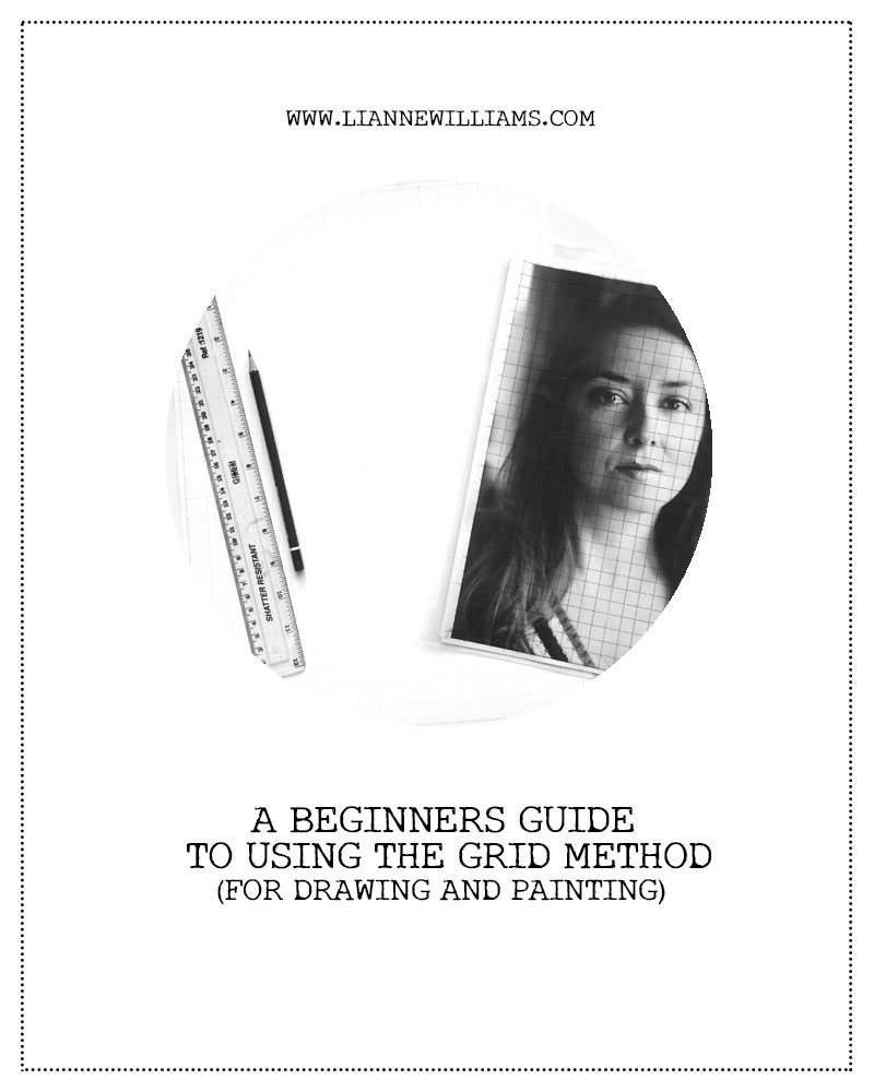 A beginners guide to the grid method for drawing and painting