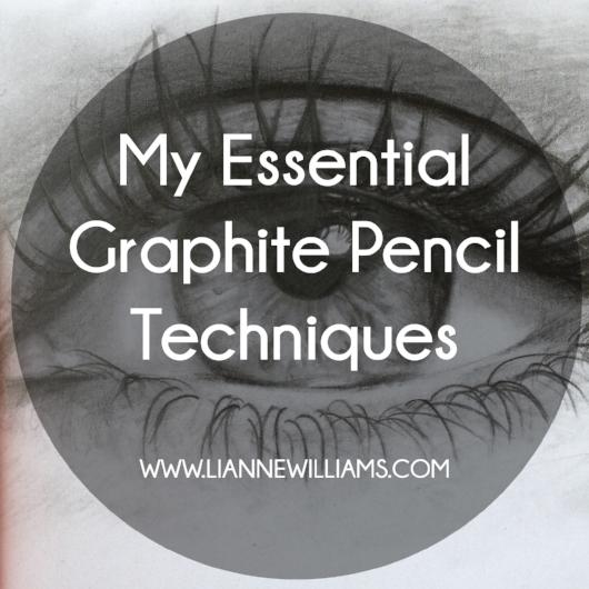 My essential graphite pencil techniques