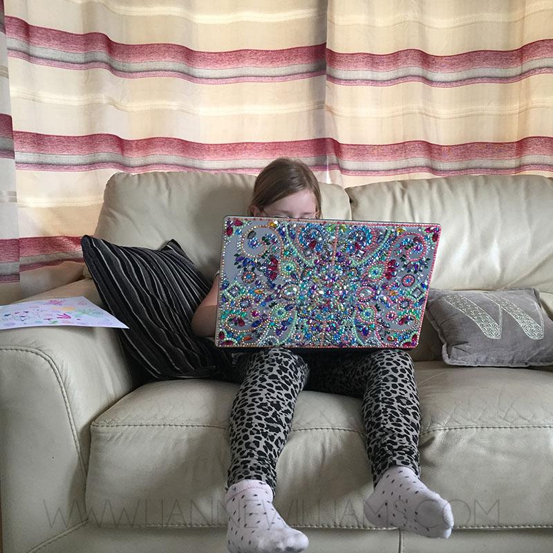 Rhinestone covered sparkly laptop 9.jpg