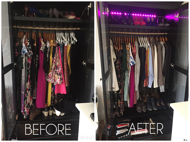 How Konmari made me a better artist CLOTHES BEFORE AFTER.jpg
