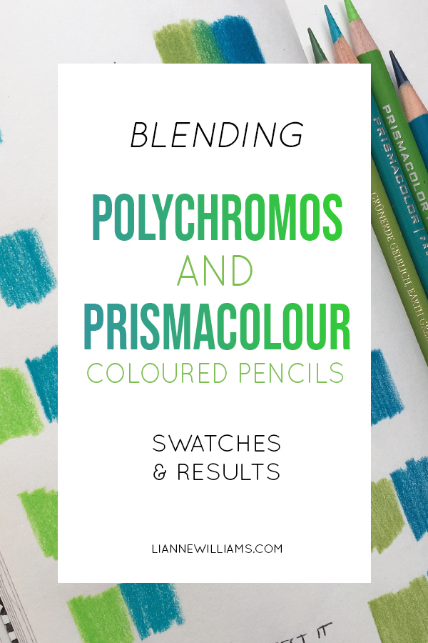 The Full Guide To Blending Prismacolor Or Polychromos Colour Pencils
