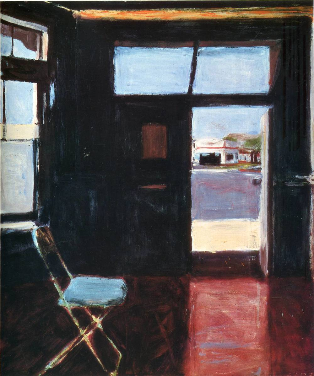 Interior with Doorway, Richard Diebenkorn, 1962