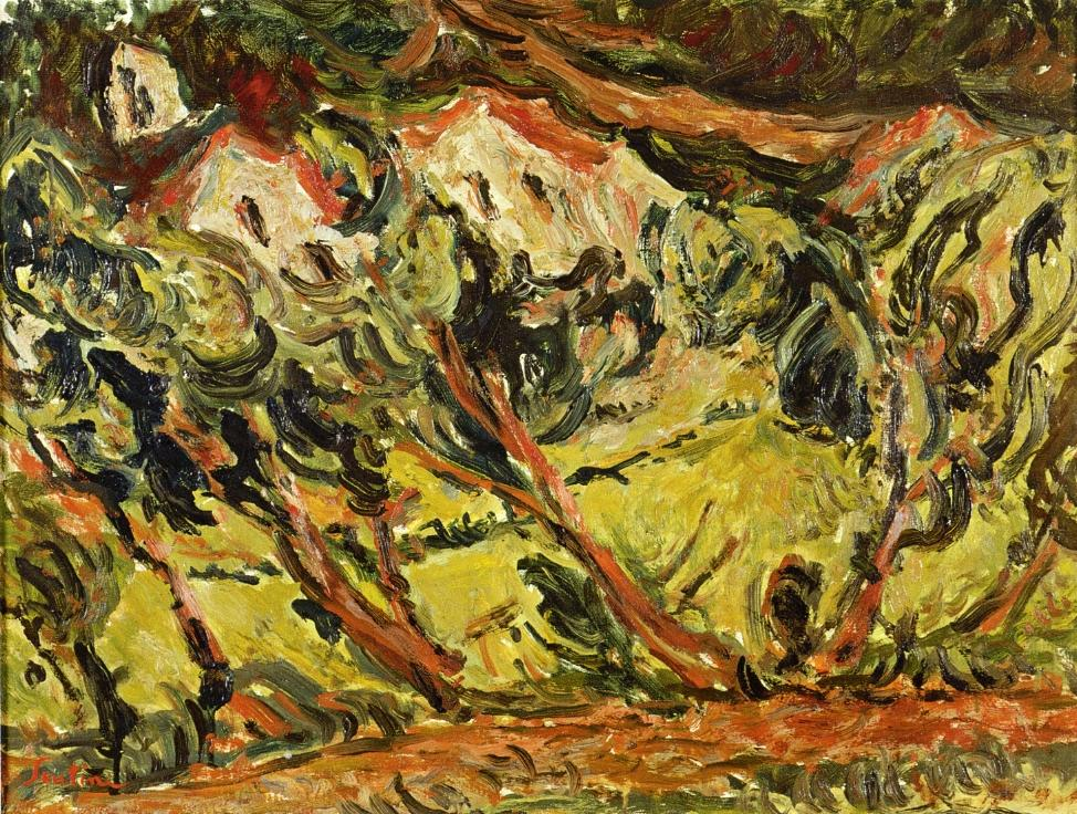 Ceret Landscape, Chaim Soutine (So many paintings I want to put here!)