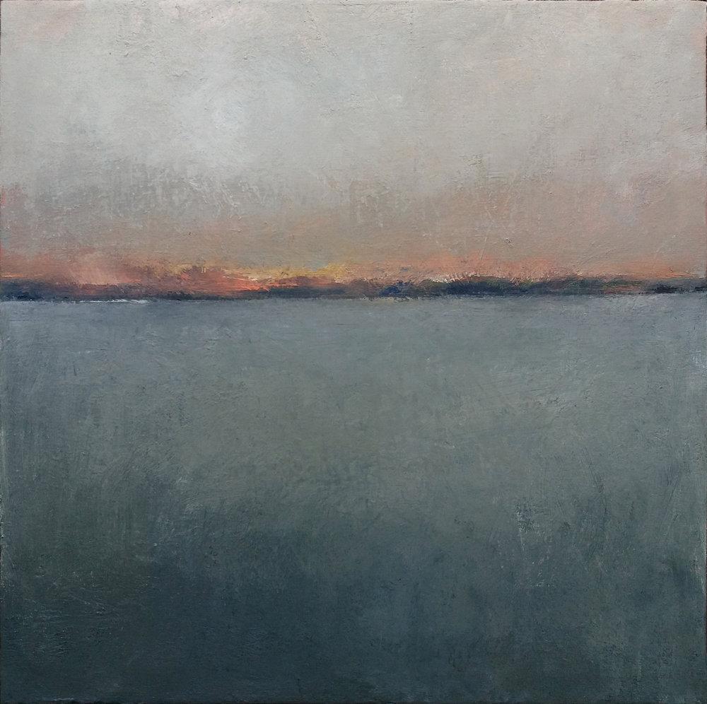 "imagining marin 16 x 16"" oil/canvas 2017"