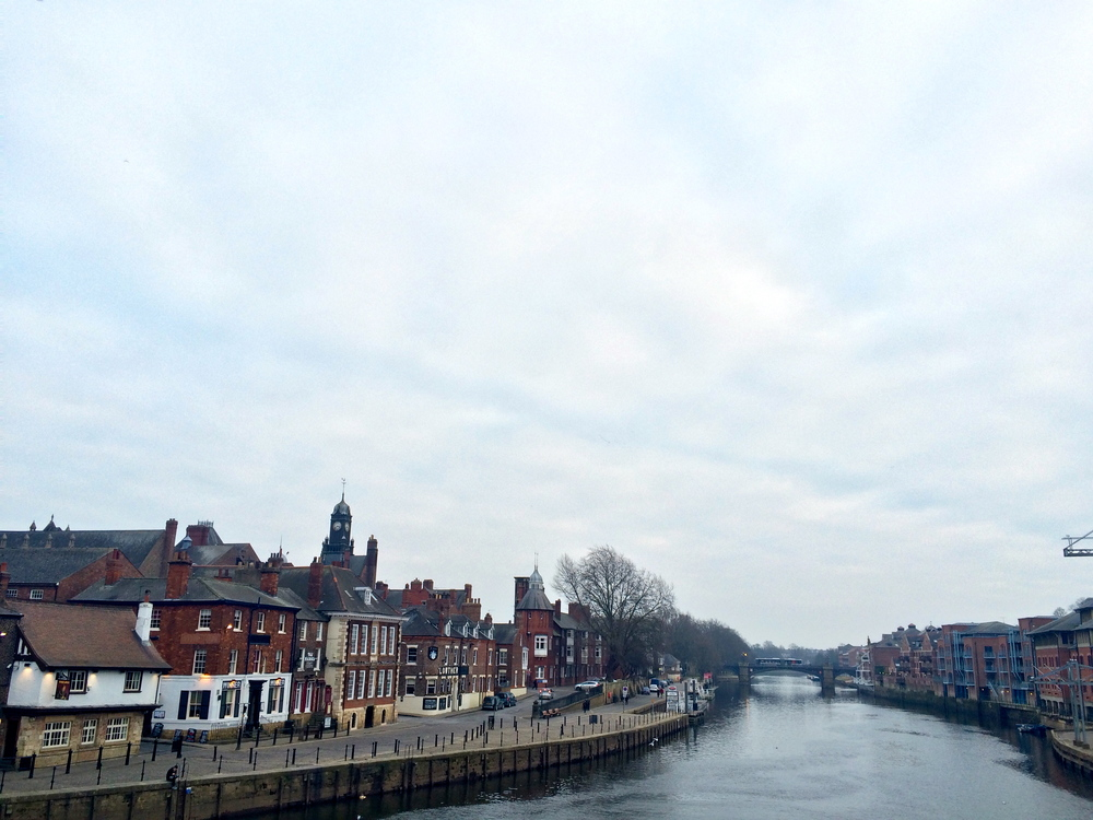 View of the city from the River Ouse