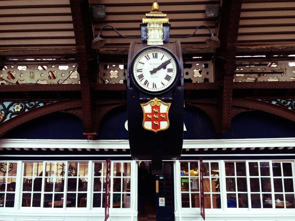 York train station: a photog's dream location