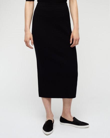 Long Rib Skirt