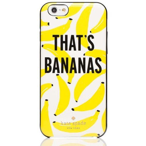 Kate Spade That's Bananas iPhone Case