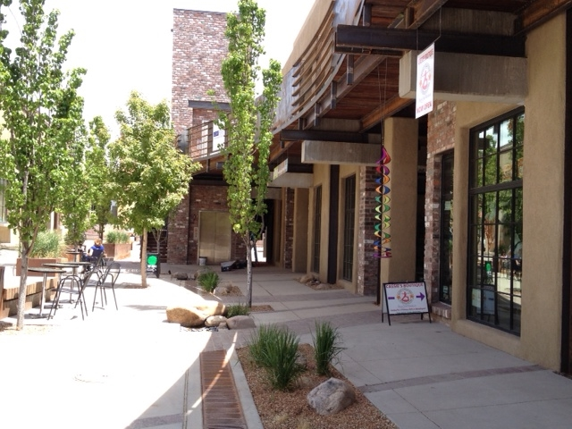 Our beautiful Luna Center Courtyard!!  Cassie's Boutique is at the front right of the photo.  Looking forward to seeing you soon!