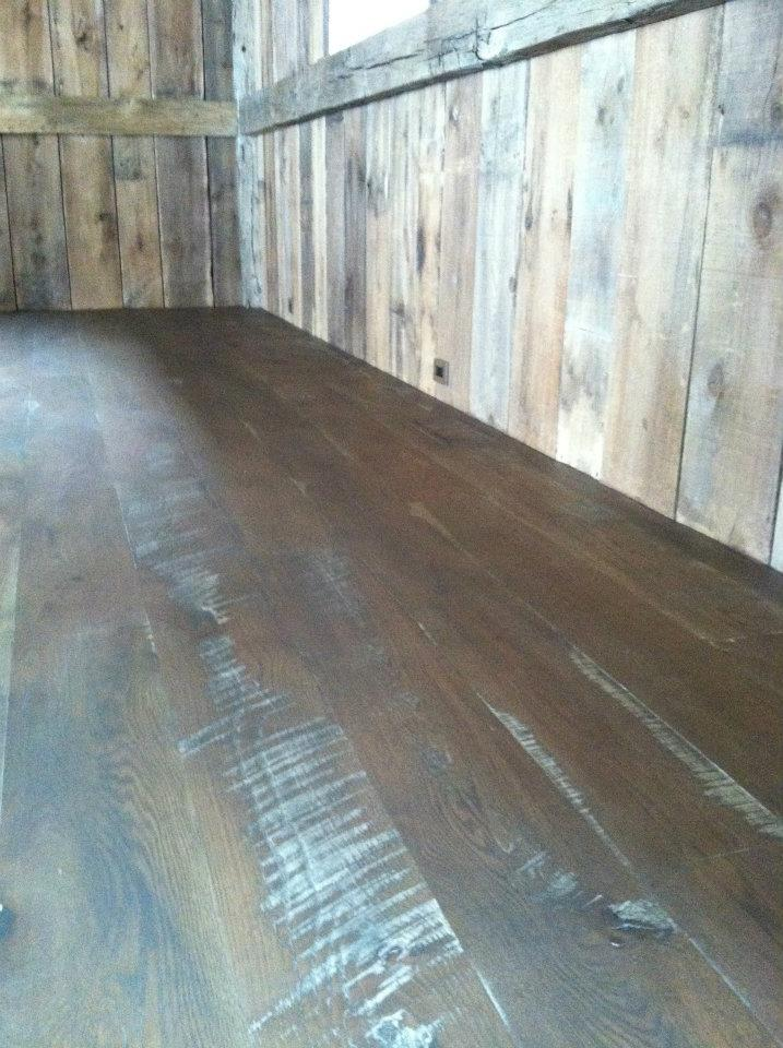 Skip Sawn White Oak