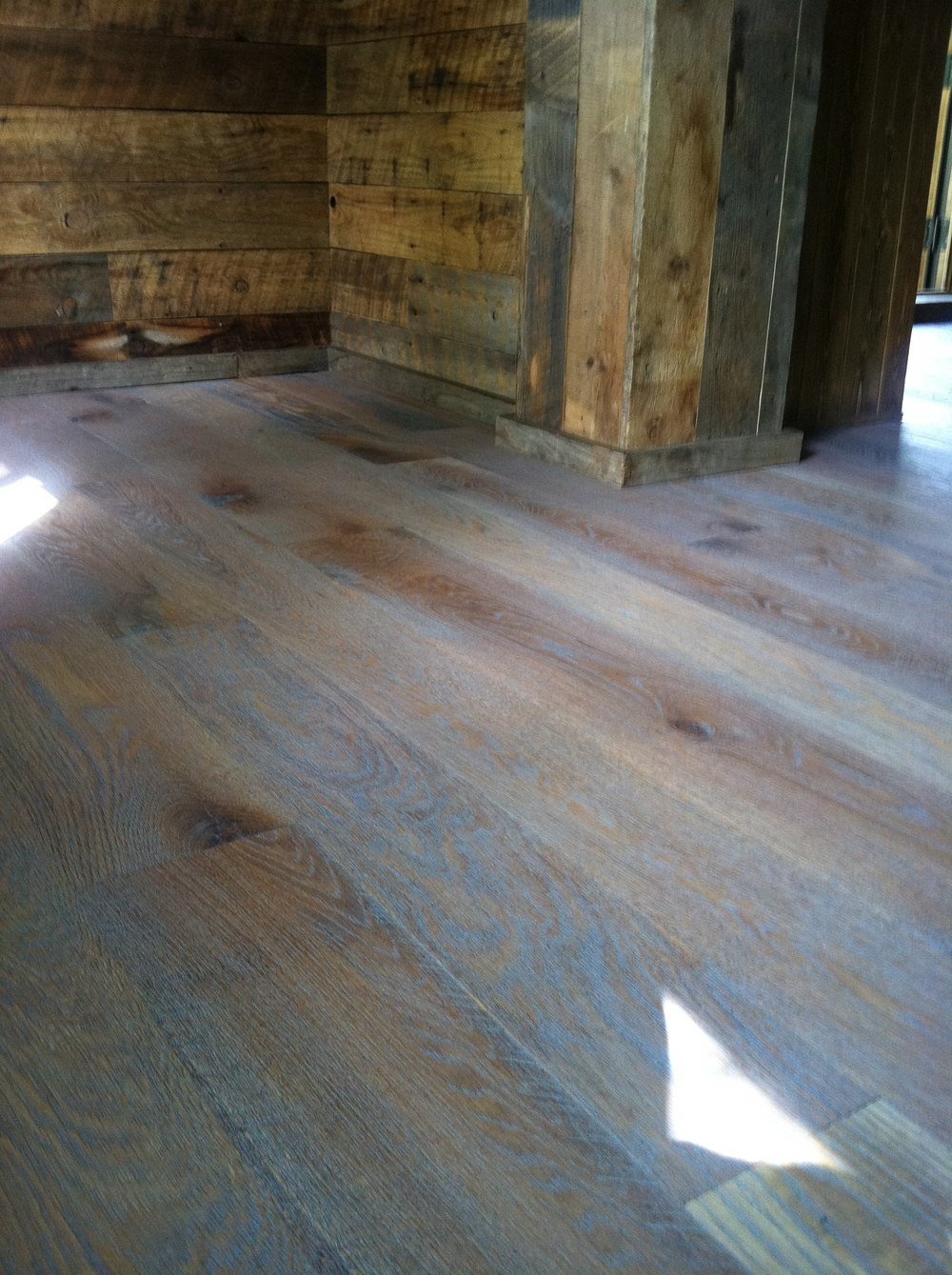 Custom Finished Rustic White Oak
