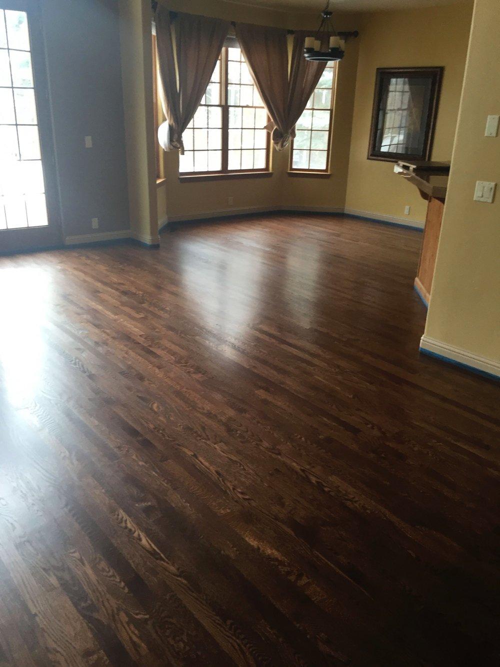 Refinished Strip Red Oak