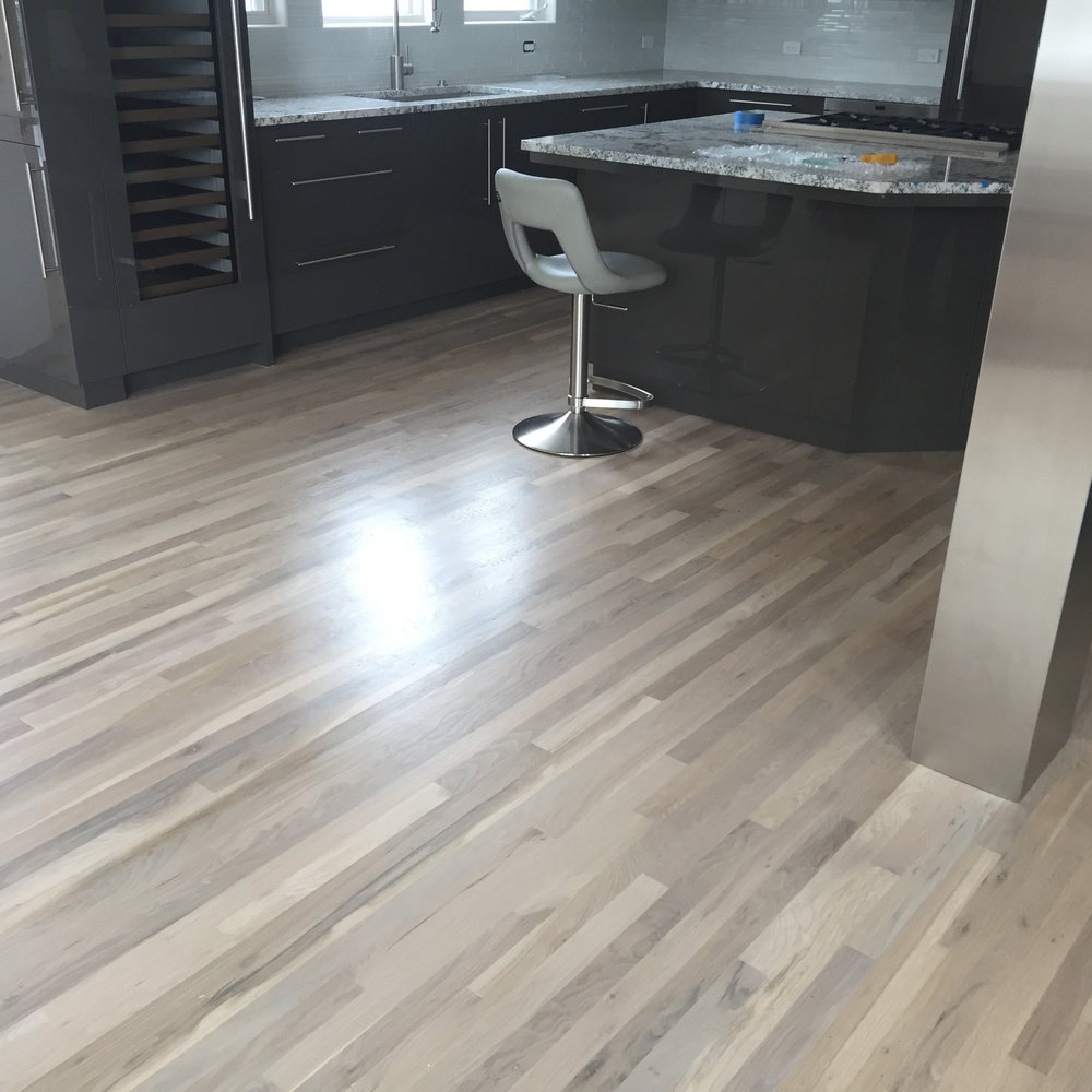 Refinished & Updated Red Oak