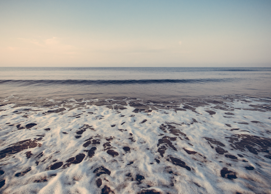 Calm Atlantic at Oak Island