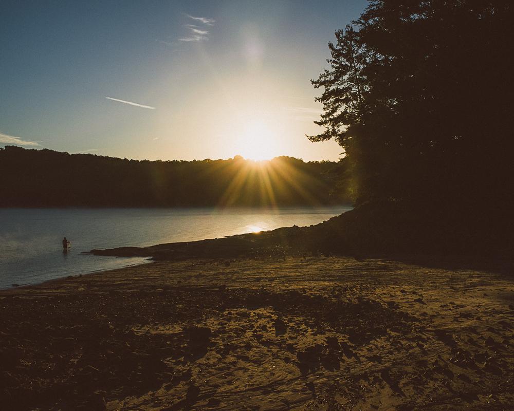 Morning in Devils Fork State Park